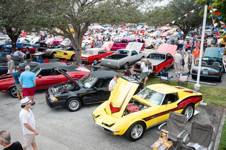 Annual Holiday Car Show Festival Flea Market Mall Pompano Beach - Pompano car show