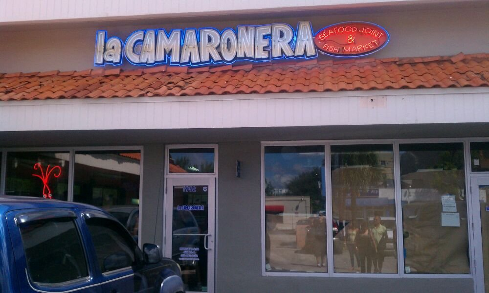 La camaronera seafood joint and fish market miami jeff for Fish market miami