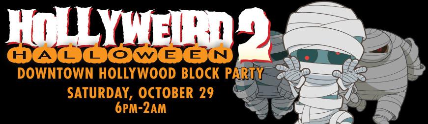 Downtown Hollywood Halloween Hollyweird 2020 Hollyweird Halloween 2 (Hollywood) | Jeff Eats