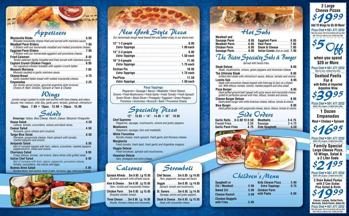 Pizza Chef Italian-Argentine Bistro (Boca Raton) | Jeff Eats