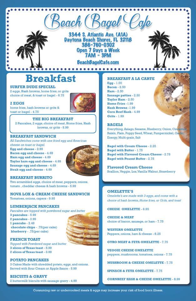 Beach Bagel Cafe Daytona Ss Jeff Eats