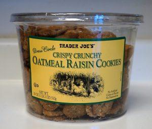 Crispy Oatmeal Chocolate Chip Cookies Trader Joe S